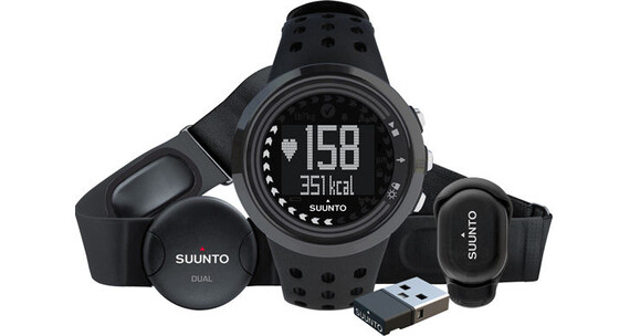 Suunto M5 All Black Running Pack